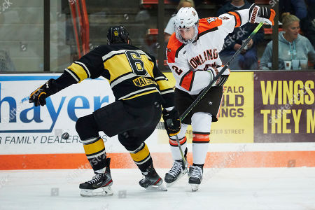 Editorial picture of Michigan Tech Hockey, Bowling Green, USA - 25 Oct 2019