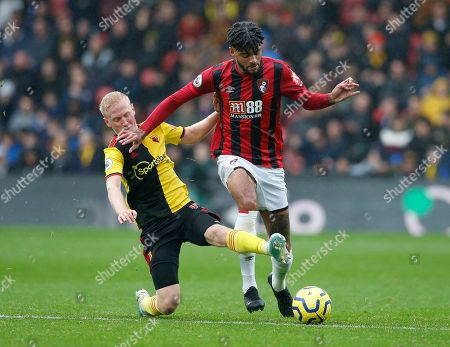 Editorial picture of Watford v AFC Bournemouth, Football, Premier League, Vicarage Road Stadium, Watford, UK - 2/10/2019