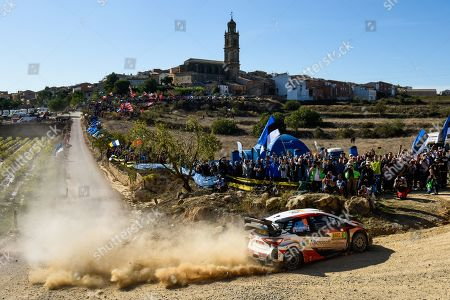 Editorial picture of Spanish Rally, Day 2, Spain - 25 Oct 2019