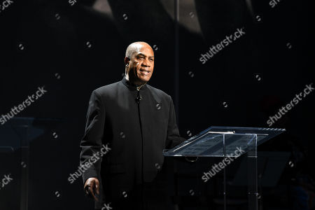Editorial image of 'Between the World and Me' play, The Apollo Theater, New York, USA - 25 Oct 2019