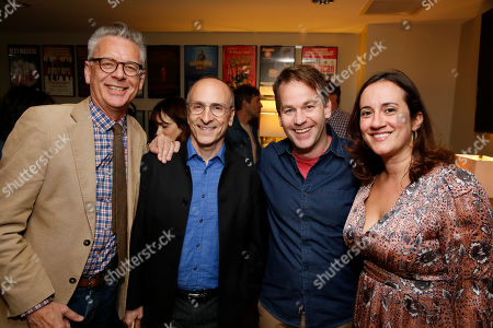 Stock Photo of Michael Ritchie, Seth Barrish, Mike Birbiglia and Meghan Pressman