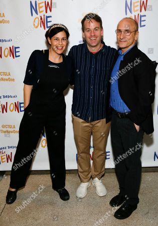 Jennifer Hope Stein, Mike Birbiglia and Seth Barrish
