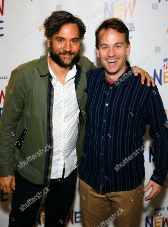 Josh Radnor and Mike Birbiglia