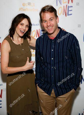 Jen Kirkman and Mike Birbiglia