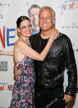 Suzanne Cryer and Patrick Fabian