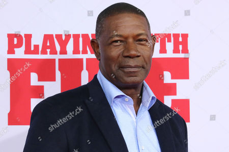 """Dennis Haysbert attends the premiere of Paramount Pictures' """"Playing With Fire"""" at the AMC Lincoln Square, in New York"""