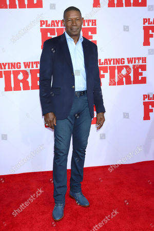 """Dennis Haysbert attends the premiere of Paramount Pictures' """"Playing With Fire"""" at the AMC Lincoln Square on Saturday, Oct. 26, in New York"""