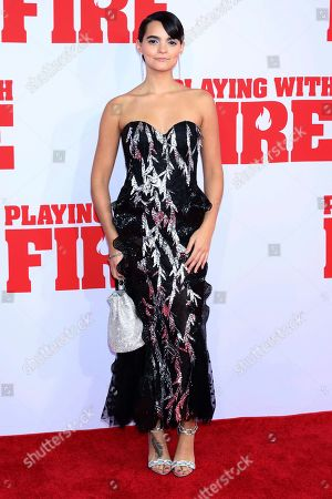 """Brianna Hildebrand attends the premiere of Paramount Pictures' """"Playing With Fire"""" at the AMC Lincoln Square on Saturday, Oct. 26, in New York"""