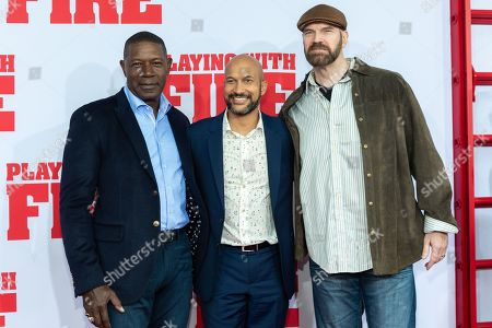 Dennis Haysbert, Keegan-Michael Key and Tyler Mane