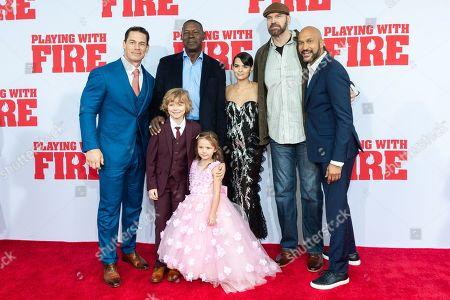 John Cena, Dennis Haysbert, Christian Convery, Finley Rose Slater, Brianna Hildebrand, Tyler Mane and Keegan-Michael Key