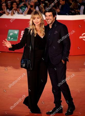 Pierfrancesco Favino and Anna Ferzetti