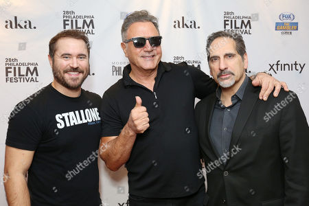 Frank Stallone, David Polemeni and Derek Wayne Johnson