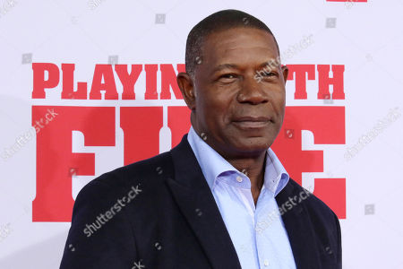 """Stock Image of Dennis Haysbert attends the premiere of Paramount Pictures' """"Playing With Fire"""" at the AMC Lincoln Square on Saturday, Oct. 26, in New York"""