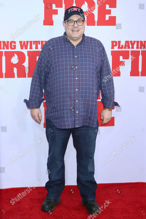 """Andy Fickman attends the premiere of Paramount Pictures' """"Playing With Fire"""" at the AMC Lincoln Square on Saturday, Oct. 26, in New York"""