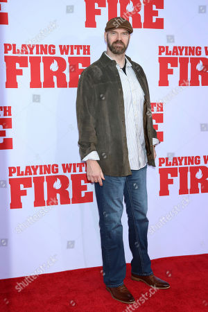 "Editorial picture of NY Premiere of ""Playing With Fire"", New York, USA - 26 Oct 2019"