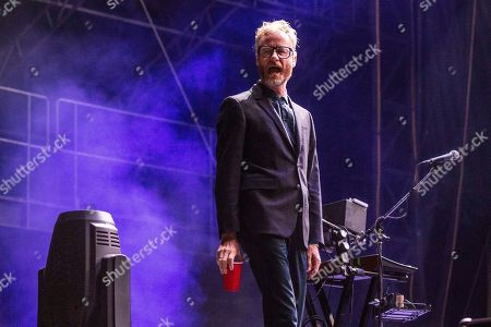 Matt Berninger of The National performs at the Voodoo Music Experience in City Park, in New Orleans