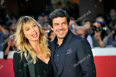 Stock Image of Pierfrancesco Favino and Anna Ferzetti