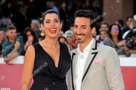 Stock Image of Samuel Peron and Tania Bambaci