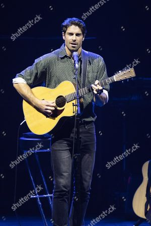 Editorial image of Tom Leeb in concert, Nice, France - 26 Oct 2019