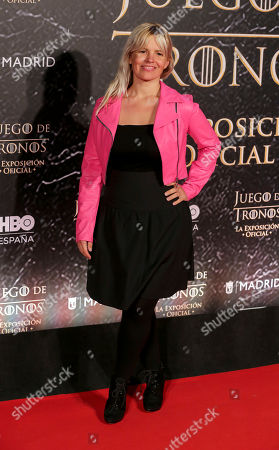 Editorial picture of 'Game of Thrones' exhibition, Arrivals, Madrid, Spain - 24 Oct 2019