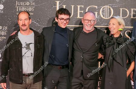 Isaac Hempstead Wright, Michele Clapton and Liam Cunningham