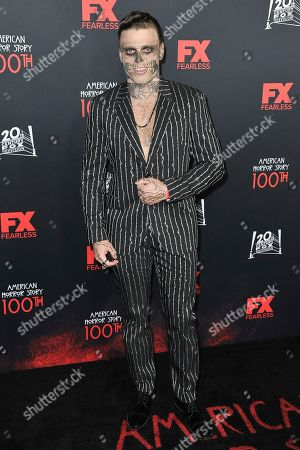 """Gus Kenworthy attends the 100 Episodes of """"American Horror Story"""" Celebration at Hollywood Forever Cemetery, in Los Angeles"""