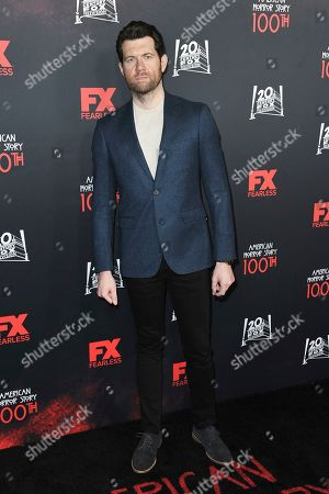 """Billy Eichner attends the 100 Episodes of """"American Horror Story"""" Celebration at Hollywood Forever Cemetery, in Los Angeles"""