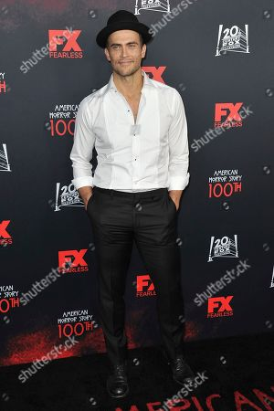 """Cheyenne Jackson attends the 100 Episodes of """"American Horror Story"""" Celebration at Hollywood Forever Cemetery, in Los Angeles"""
