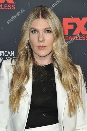 """Lily Rabe attends the 100 Episodes of """"American Horror Story"""" Celebration at Hollywood Forever Cemetery, in Los Angeles"""
