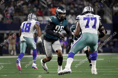 Editorial picture of Eagles Cowboys Football, Arlington, USA - 20 Oct 2019