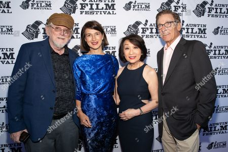 Stock Picture of Richard Bausch, Lisa Cupolo, Connie Chung and Maury Povich