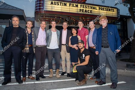Franco Nero, Chris Brochu, Robert Port, Sam Keeley, Maury Povich, Connie Chung, R.J. Fetherstonhaugh, Rick Dugdale, Richard Bausch and Tyler Hynes