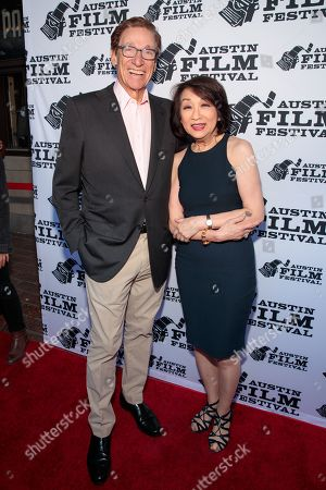 Maury Povich and Connie Chung