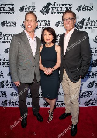 Robert Port, Connie Chung and Maury Povich