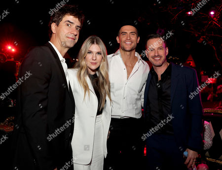 Hamish Linklater, Lily Rabe, Cheyenne Jackson and Jason Landau