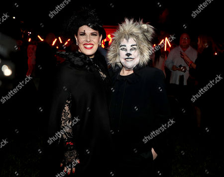 Alexis Martin Woodall and Kathy Bates