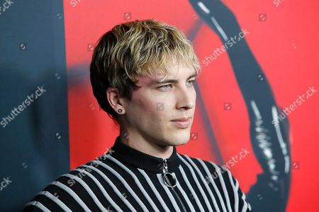 Cody Fern arrives for FX's American Horror Story 100th Episode Celebration at Hollywood Forever Cemetery in Hollywood, Los Angeles, California, USA, 26 October 2019. American Horror Story: 1984, the ninth installment of the award-winning anthology series, currently airs on FX in the US.