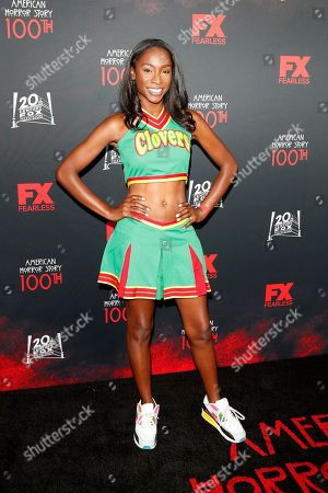 Angelica Ross arrives for FX's American Horror Story 100th Episode Celebration at Hollywood Forever Cemetery in Hollywood, Los Angeles, California, USA, 26 October 2019. American Horror Story: 1984, the ninth installment of the award-winning anthology series, currently airs on FX in the US.