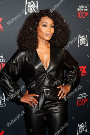 Angela Bassett arrives for FX's American Horror Story 100th Episode Celebration at Hollywood Forever Cemetery in Hollywood, Los Angeles, California, USA, 26 October 2019. American Horror Story: 1984, the ninth installment of the award-winning anthology series, currently airs on FX in the US.