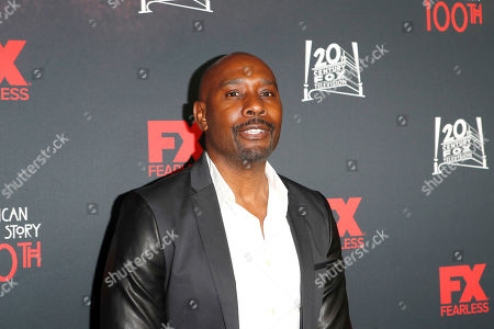 USA actor and cast member Morris Chestnut arrives for FX's American Horror Story 100th Episode Celebration at Hollywood Forever Cemetery in Hollywood, Los Angeles, California, USA on 26 October, 2019. American Horror Story: 1984, the ninth installment of the award-winning anthology series, will air on Wednesday.