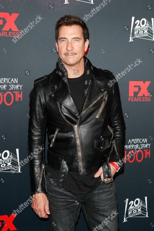 USA actor and cast member Dylan McDermott arrives for FX's American Horror Story 100th Episode Celebration at Hollywood Forever Cemetery in Hollywood, Los Angeles, California, USA on 26 October, 2019. American Horror Story: 1984, the ninth installment of the award-winning anthology series, will air on Wednesday.