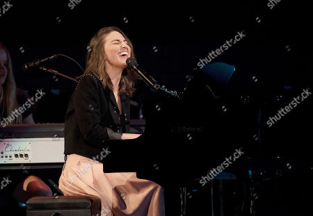 Editorial picture of Sara Bareilles in concert on her 'Amidst the Chaos', San Francisco, USA - 26 Oct 2019
