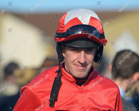 Stock Photo of Jockey Robert Williams during Horse Racing at Wincanton Racecourse on 27th October 2019