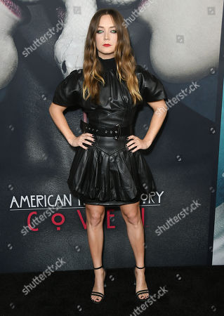 Editorial photo of 'American Horror Story' 100th Episode Celebration, Arrivals, Hollywood Forever Cemetery, Los Angeles, USA - 26 Oct 2019
