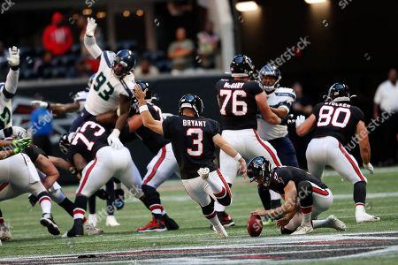 Editorial image of Seahawks Falcons Football, Atlanta, USA - 27 Oct 2019