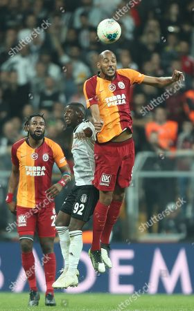 Editorial photo of Besiktas vs Galatasaray, Istanbul, Turkey - 27 Oct 2019