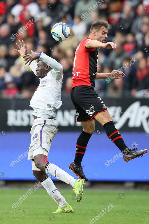 Editorial photo of Soccer League One, Rennes, France - 27 Oct 2019
