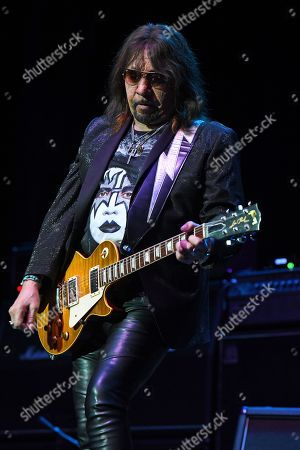 Editorial image of Ace Frehley in concert at The Lyric Theatre, Stuart, Florida, USA - 26 Oct 2019