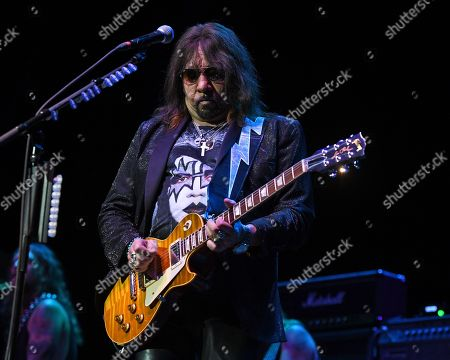 Editorial picture of Ace Frehley in concert at The Lyric Theatre, Stuart, Florida, USA - 26 Oct 2019