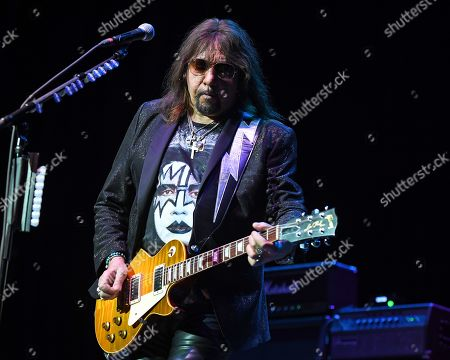 Editorial photo of Ace Frehley in concert at The Lyric Theatre, Stuart, Florida, USA - 26 Oct 2019